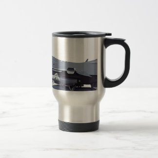 General_Dynamics_F-16C_Fighting_Falcon_(401),_USA_ Travel Mug