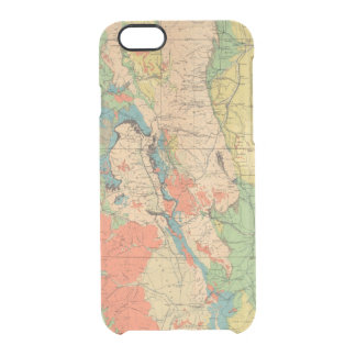General Geological Map of Colorado Clear iPhone 6/6S Case