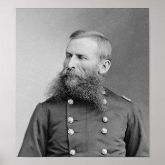 General George Crook - American Civil War Poster