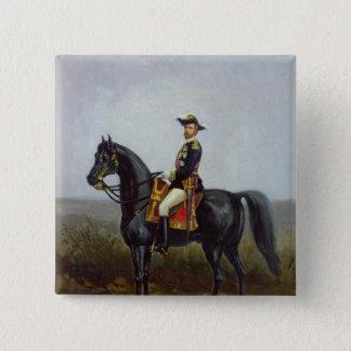 General George Ernest Boulanger 15 Cm Square Badge