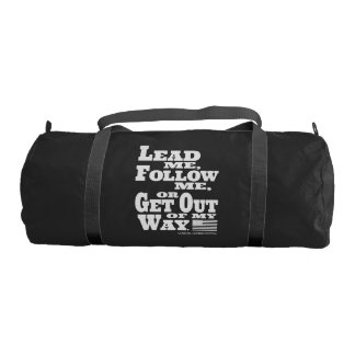 General George Patton Quote Duffle Gym Bag