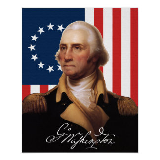 General George Washington Poster