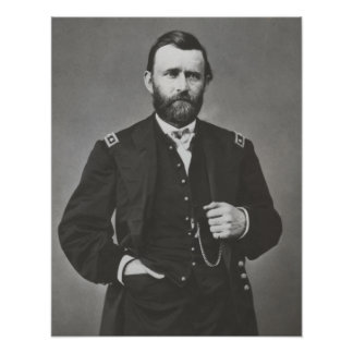 General Grant During The Civil War Poster
