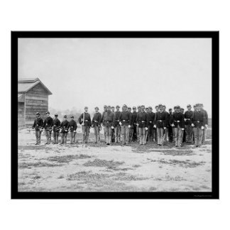 General Grant's Cavalry Escort 1865 Poster