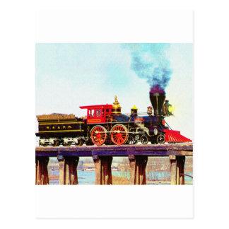 General Locomotive Postcard