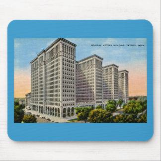 General Motors Building, Detroit, Michigan Mouse Pad