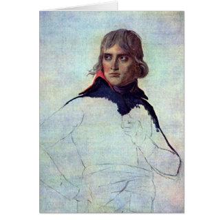 General Napoleon Bonaparte By Jacques-Louis David Card