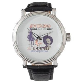General Pancho Villa Mexican Hero Watch
