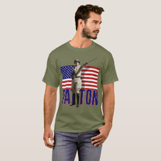 General Patton U.S. Flag T-Shirts