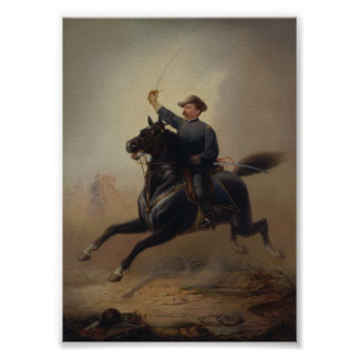 General Philip Sheridan's Ride Painting Poster