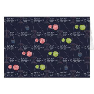 General Relativistic Universe Card