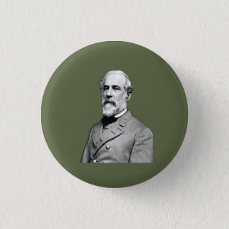 General Robert E. Lee  Army Green 3 Cm Round Badge