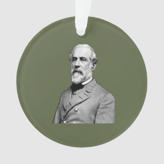 General Robert E. Lee  Army Green Ornament
