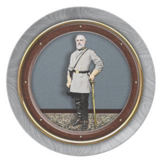 General Robert E. Lee Plate