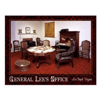 General Robert E. Lee's office, Lee Chapel, VA Postcard