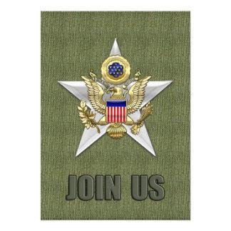 General Staff Branch Insignia Invites