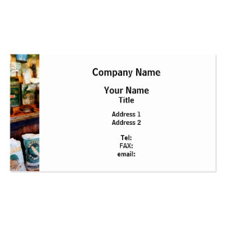 General Store Pack Of Standard Business Cards