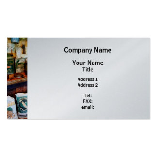 General Store - Platinum Finish Pack Of Standard Business Cards
