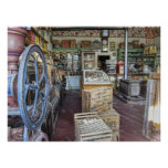 General Store - Virginia City Ghost Town - Montana Print