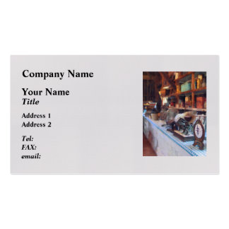 General Store With Scales Pack Of Standard Business Cards