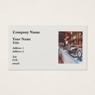 General Store With Scales Business Card