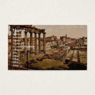 General view, Kola, Kola Peninsula, Russia classic Business Card