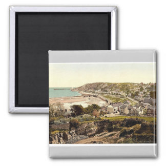 General view, Mumbles, Wales rare Photochrom Square Magnet