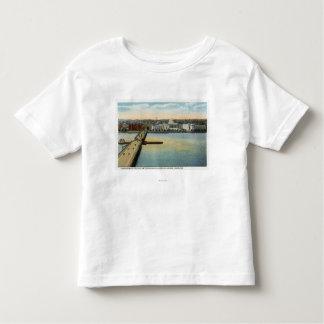 General View of MIT and Harvard Bridge, Toddler T-Shirt