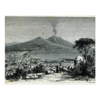 General View of Naples Postcard