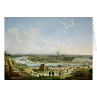General View of Paris from the Chaillot Hill Card