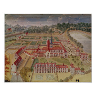 General View of the Abbey Poster