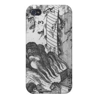 General view of the battle of Muhlberg iPhone 4 Cases
