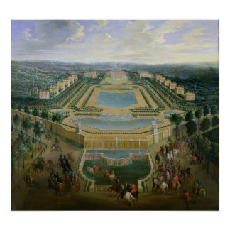 General view of the Chateau Poster