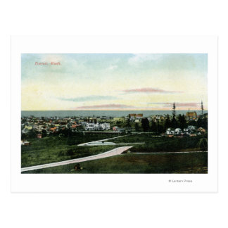 General View of the City Postcard