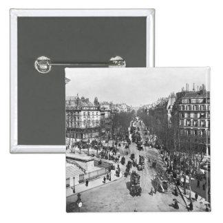 General view of the Place de la Madeleine Pins