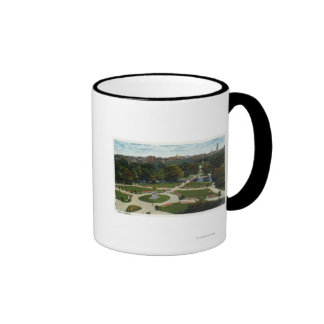 General View of the Public Garden Coffee Mugs