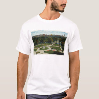 General View of the Public Garden T-Shirt