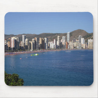 General Vista of the coast of Benidorm Mouse Pad