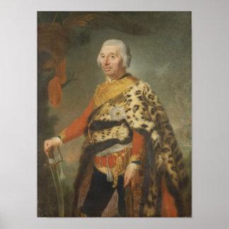 General von Zieten, 1769 Poster