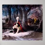 General Washington Prays at Valley Forge, PA Poster