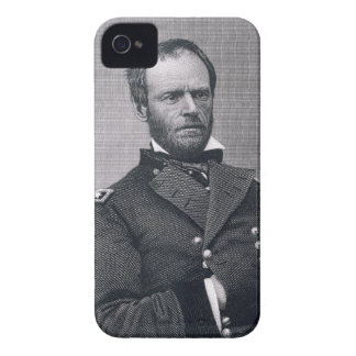 General William Tecumseh Sherman, engraved after a iPhone 4 Cases