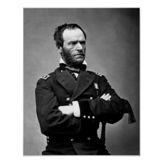 General William Tecumseh Sherman Poster