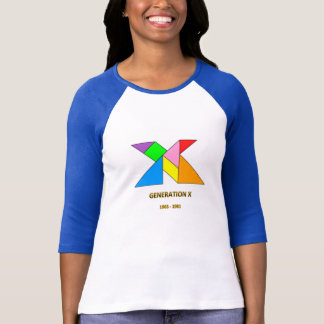 Generation X Raglan T-shirt