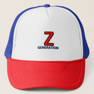 Generation Z or Digital Native cap logo