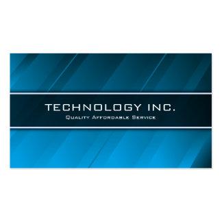 Generic Blue Shine Technology IT - Business Card