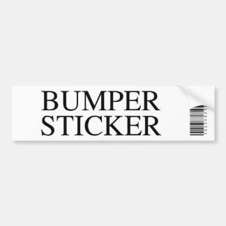 Generic Bumper Sticker Car Bumper Sticker
