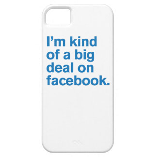 Generic Comedy™ / Big Deal on Facebook Barely There iPhone 5 Case