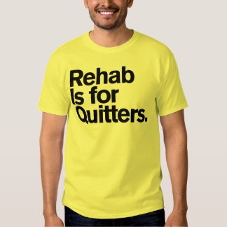 Generic Comedy™ / Rehab Is for Quitters. Tshirt