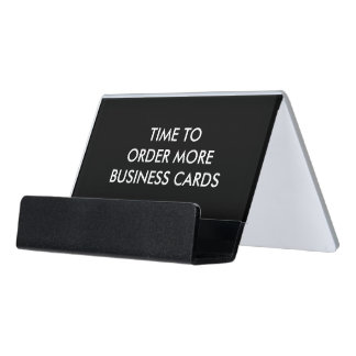 Generic Style Desk Business Card Holder