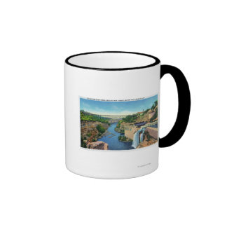 Genesee River Gorge, Park Avenue Bridge Coffee Mug